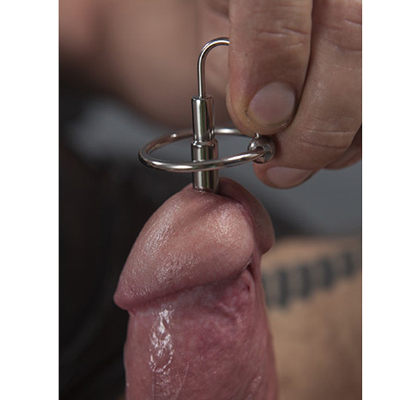 The Scorpion Penis Plug With Rubber Glans Ring