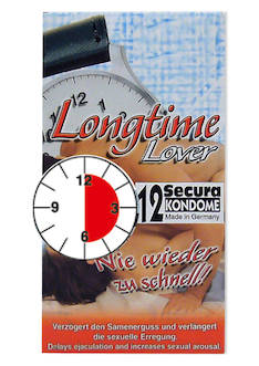 Longtime Lover Kondomit - Kondomit - 4024144414123 - 1