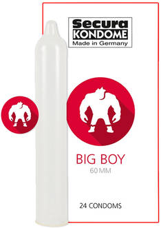 Big Boy Kondomit 24 kpl - Kondomit - 4024144416332 - 2